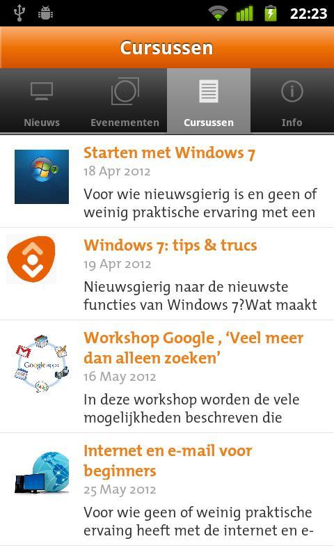 Bibliotheek Amstelland Info- screenshot