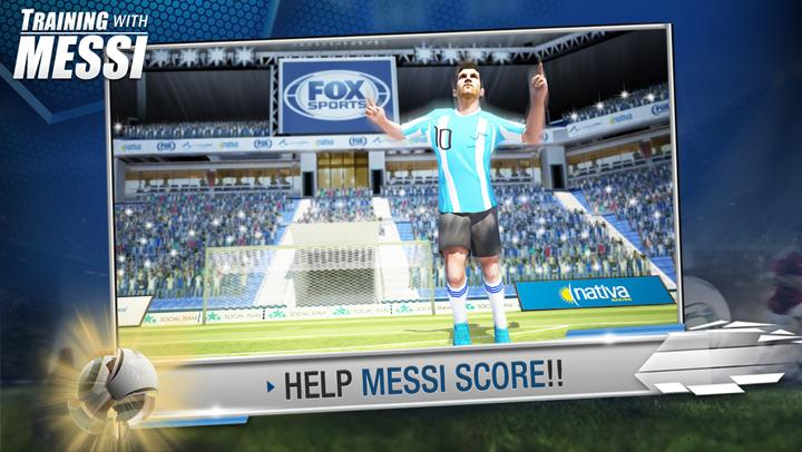 Training with Messi- screenshot