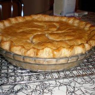 Leftover Pot Pie.