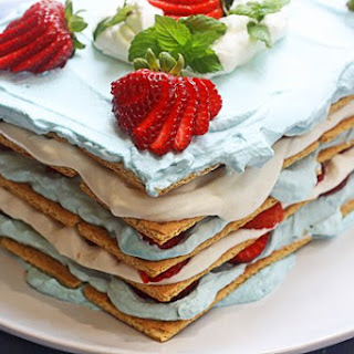 Strawberry Icebox Cake