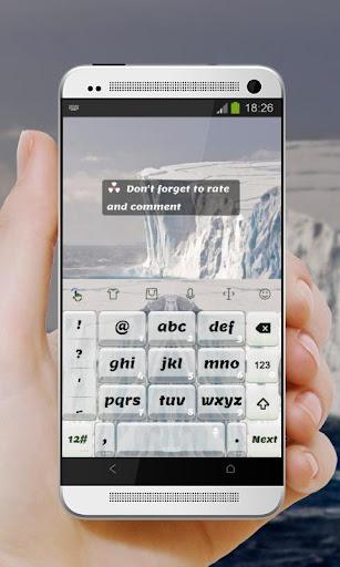 玩免費個人化APP|下載冰川 TouchPal Theme app不用錢|硬是要APP