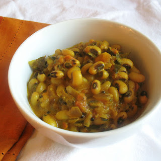 Black-Eyed Pea Curry with Coconut and Tomato