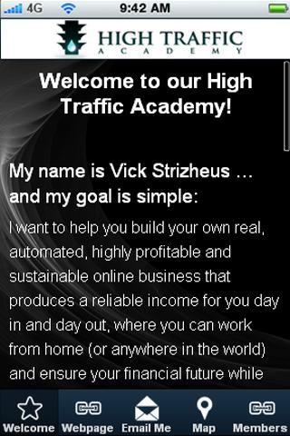 High Traffic Academy - screenshot
