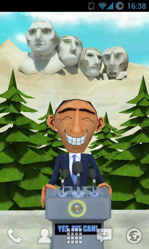 Free US Live Wallpaper Demo - screenshot