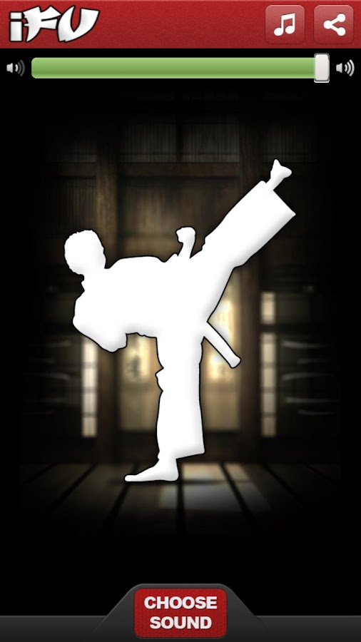 iFu - Virtual Kung Fu Game - screenshot