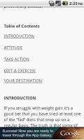 Screenshot of 177 Ways To Lose Weight