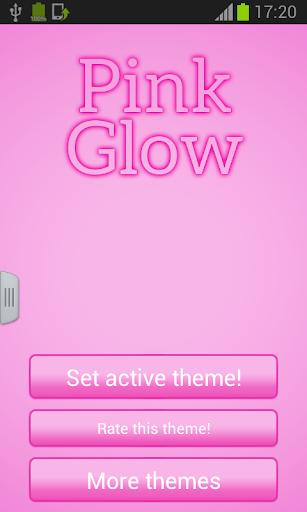 粉紅色鍵盤夜光