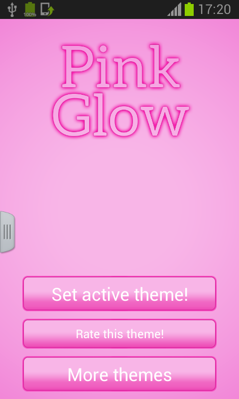 Pink Keyboard Glow - screenshot