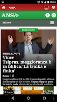 Screenshot of Tutti i Quotidiani Italiani