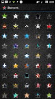 Screenshot of Starcons Icon Pack