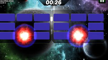 Screenshot of Astro Explosions Brain trainer