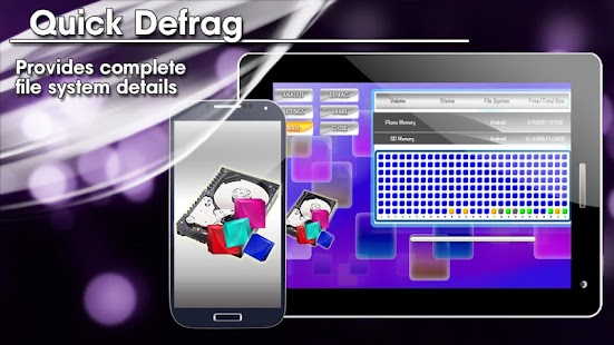 Quick Defrag HD FREE - screenshot thumbnail