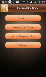 Bhagavad Gita Quotes - screenshot thumbnail