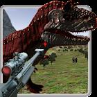 Caza de los dinosaurios de la selva - 3D icon