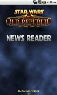 SWTOR News Reader - screenshot thumbnail
