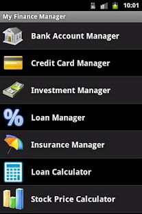 My Finance Manager screenshot for Android