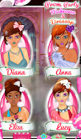 Screenshot of Prom Party Makeover & Dressup