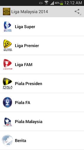 Liga Malaysia 2014