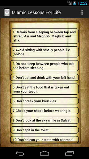 Islamic Lessons For Life