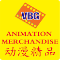 VBG Animation Merchandise logo