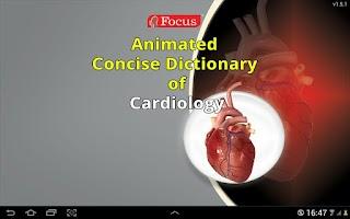 Screenshot of Cardiology-Animated Dictionary