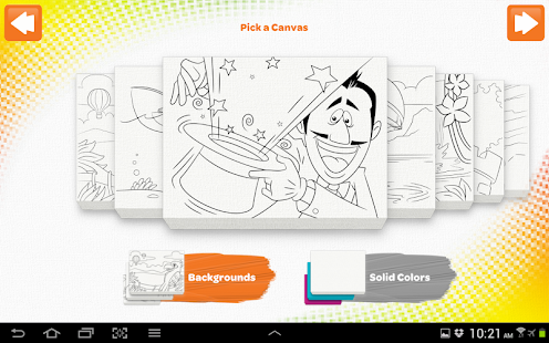 Crayola DigiTools Paint- screenshot thumbnail