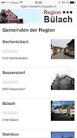 Screenshot of Region Bülach