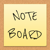 Note Board app (Ads free)