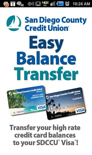 SDCCU Easy Balance Transfer