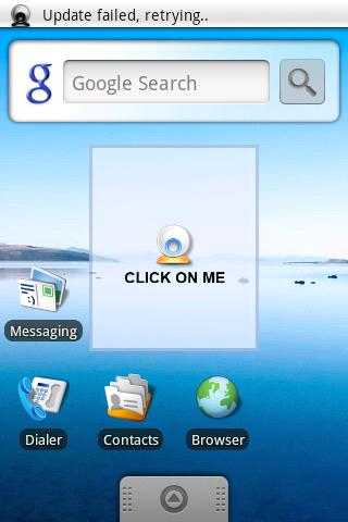 Webby Webcam Widget - screenshot