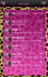 Complete Cheetah Pink Theme screenshot 2