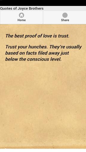 玩免費娛樂APP|下載Quotes of Joyce Brothers app不用錢|硬是要APP