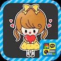 알콩이달콩이러브모드 스티커팩 icon