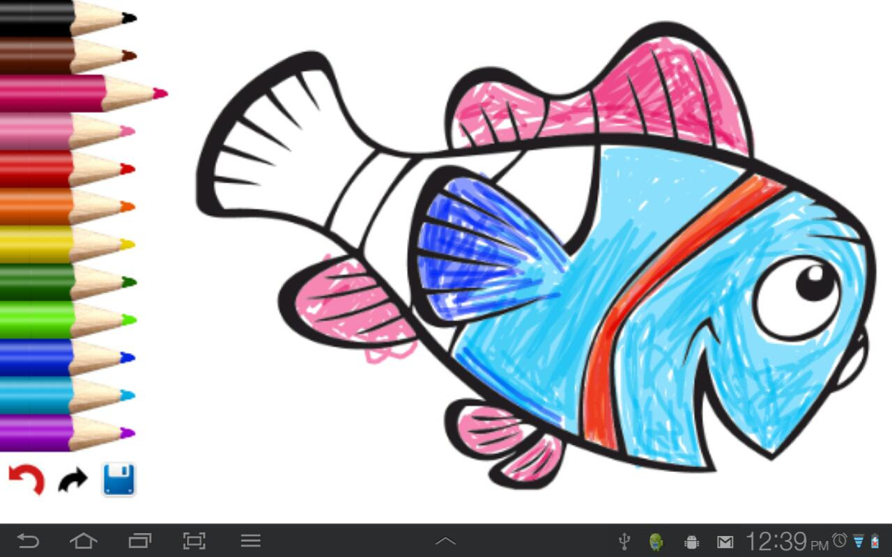 kids coloring book screenshot