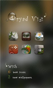 Dryad GO Launcher EX Theme - screenshot thumbnail