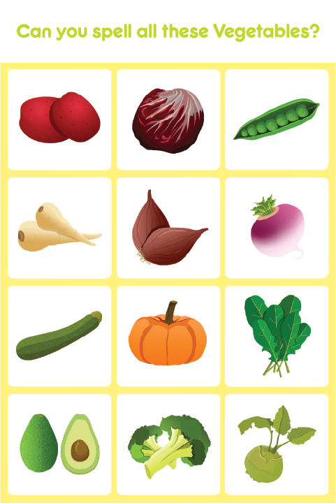 Kids Spell Learn Vegetables Android Apps On Google Play - Can you spell