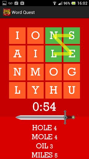 【免費解謎App】Word Quest-APP點子