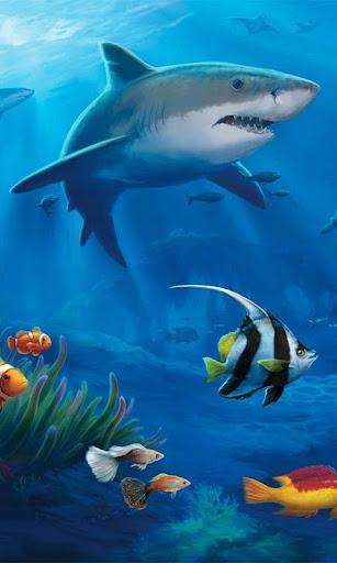 Ocean Aquarium 3D Free LWP