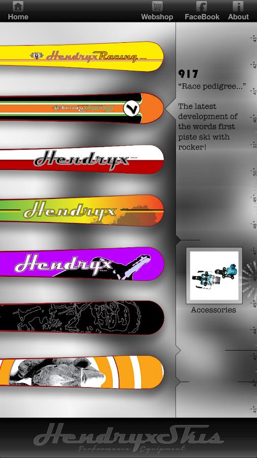 HendryxSkis - screenshot