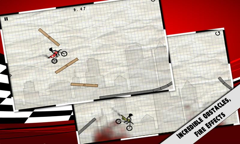 Stick Stunt Biker - screenshot