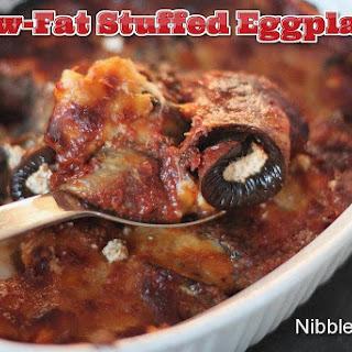 Lowfat Stuffed Eggplant