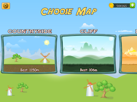 Screenshot of Up Hill Racing: Hill Climb