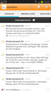 Studentenwerk Heidelberg - screenshot thumbnail