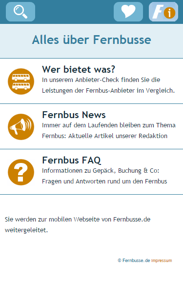 Fernbusse.de- screenshot