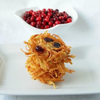 Sweet or Savory Cranberry Latkes