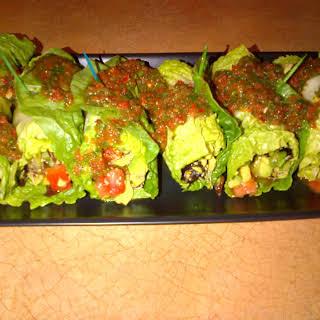 Veggie Lettuce Wraps.