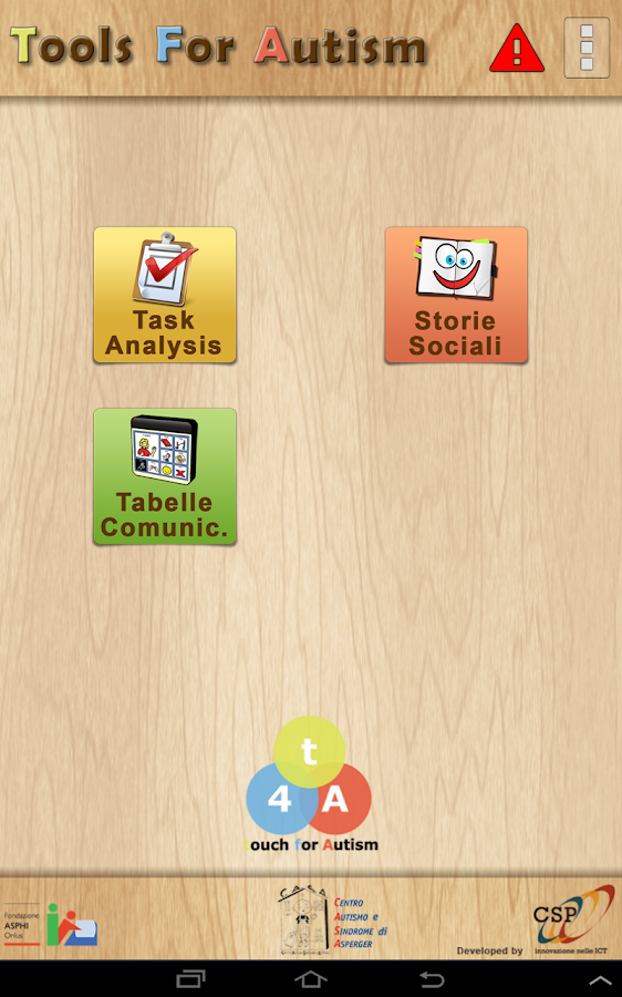 spesso TFA - Tools For Autism - App Android su Google Play HX83