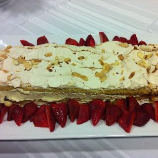 My version of Norway's World's Best Cake.