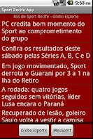 Screenshot of Sport Recife