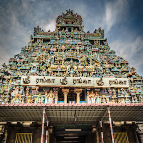 Sri Ranganathaswamy Temple by Adit Lal - Buildings & Architecture Places of Worship ( temple, ppl, hdr, trichy, tamilnadu )